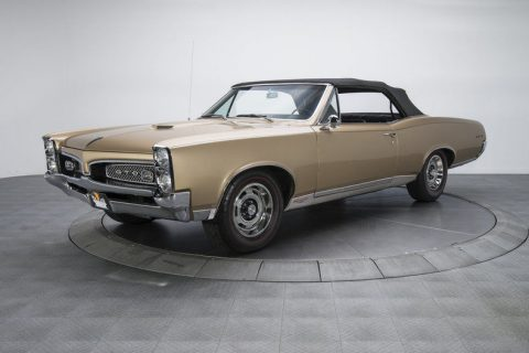 very low miles 1967 Pontiac GTO convertible for sale