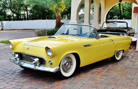 absolutely gorgeous 1955 Ford Thunderbird Convertible for sale