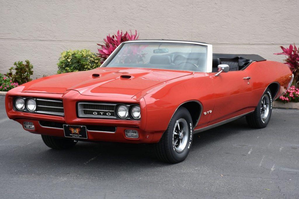 amazing 1969 Pontiac GTO Convertible