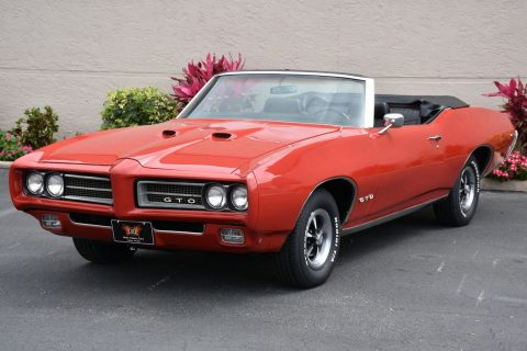 amazing 1969 Pontiac GTO Convertible for sale
