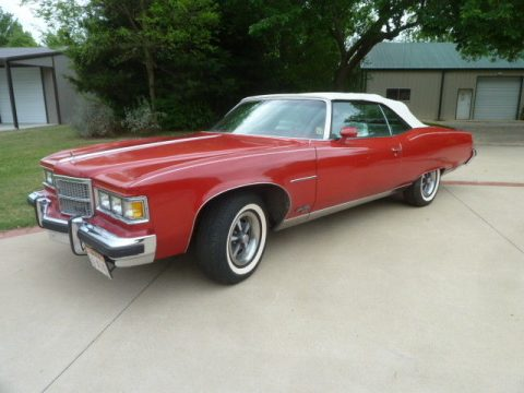 low mileage 1975 Pontiac Grandville Brougham Convertible for sale