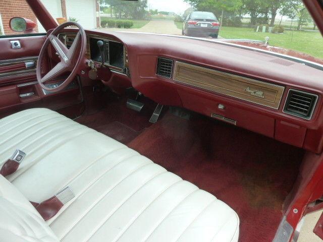 low mileage 1975 Pontiac Grandville Brougham Convertible