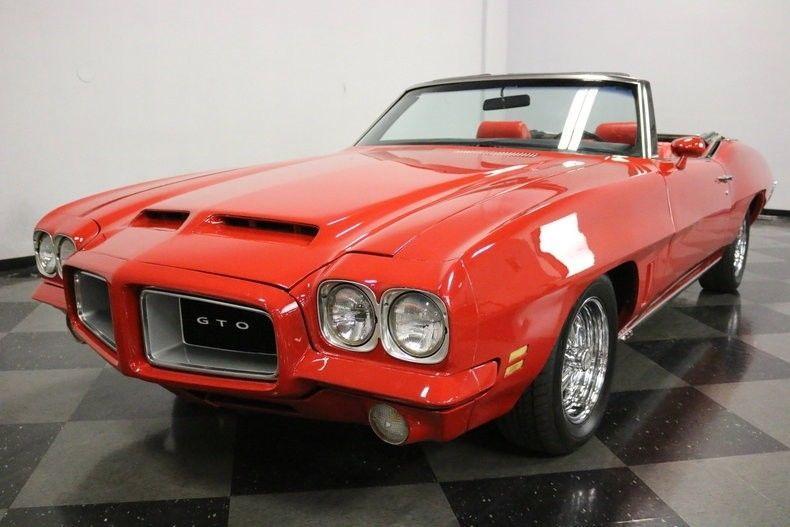 low miles 1972 Pontiac Le Mans GTO Clone Convertible