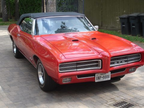 mostly original 1969 Pontiac GTO convertible for sale