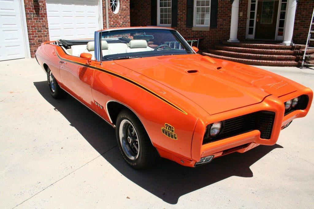 nice clone 1969 Pontiac GTO Convertible