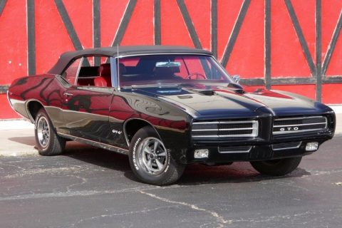 older restoration1969 Pontiac GTO Convertible for sale