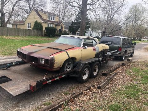 rare 1969 Pontiac Le Mans convertible for sale