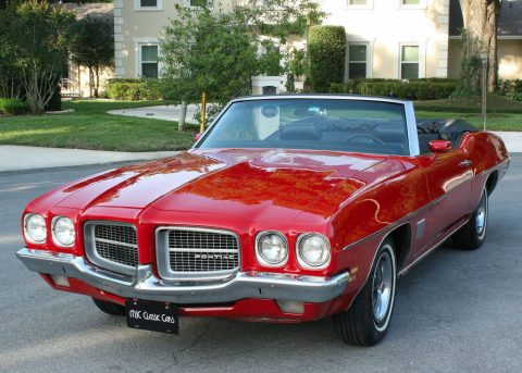 rare restored 1971 Pontiac Le Mans Sport Convertible for sale