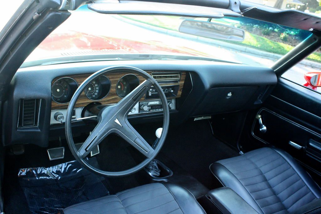 rare restored 1971 Pontiac Le Mans Sport Convertible