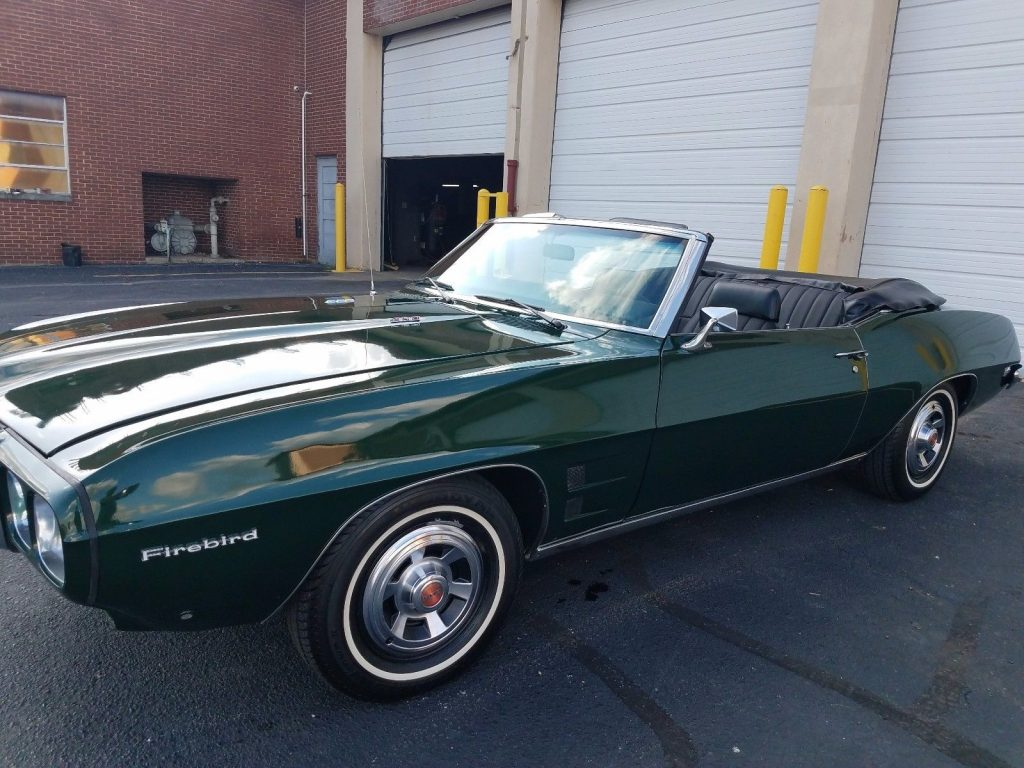 rebuilt engine 1969 Pontiac Firebird Convertible
