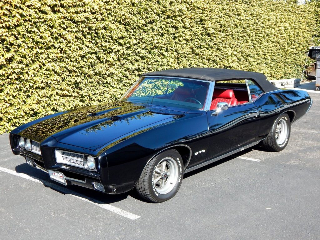 restored 1969 Pontiac GTO Convertible 455