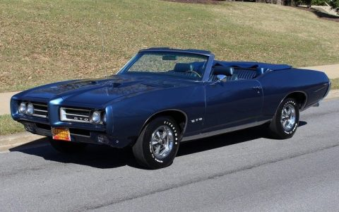 restored 1969 Pontiac GTO Convertible for sale