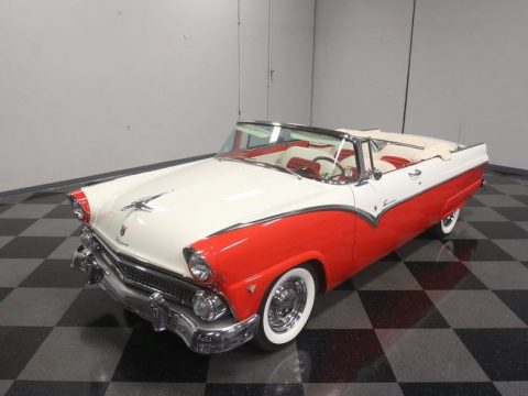 very low miles 1955 Ford Fairlane Sunliner convertible for sale