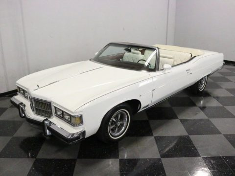 well maintained 1975 Pontiac Grand Ville Convertible for sale