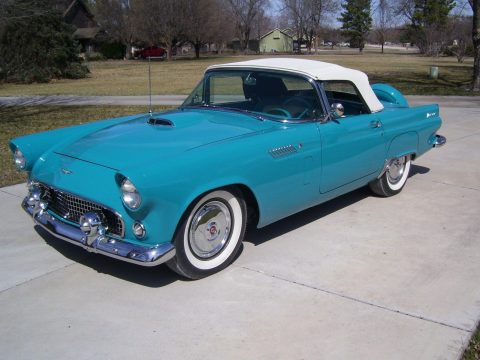 completely restored 1956 Ford Thunderbird convertible for sale