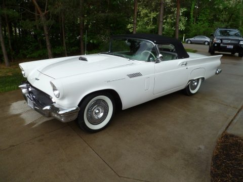 everything works 1957 Ford Thunderbird convertible for sale
