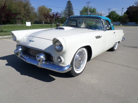 extremely well maintained 1956 Ford Thunderbird convertible for sale