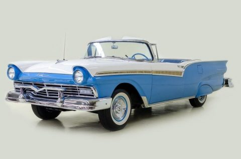 fully restored 1957 Ford Fairlane 500 Hard Top/convertible for sale