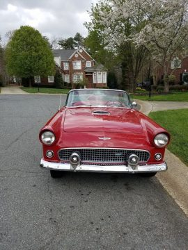 good condition 1956 Ford Thunderbird convertible for sale