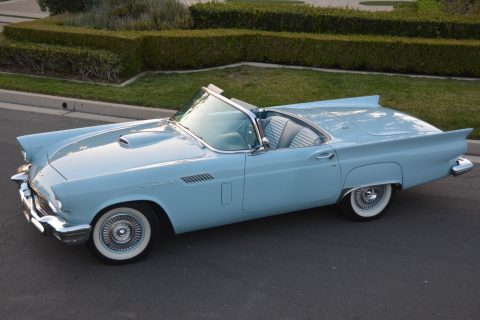 handles like a dream 1957 Ford Thunderbird Roadster convertible for sale