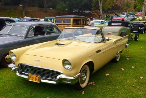 low miles 1957 Ford Thunderbird convertible for sale