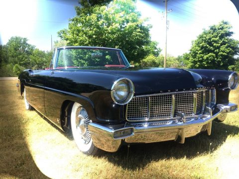 one of a kind 1956 Lincoln Continental Convertible for sale