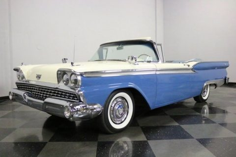ready to cruise 1959 Ford Fairlane 500 Galaxie Convertible for sale