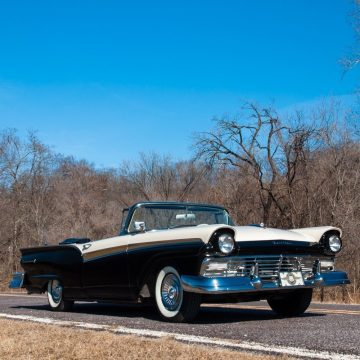 restomod 1957 Ford Fairlane 500 Sunliner convertible for sale