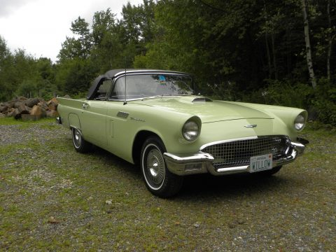 restored 1957 Ford Thunderbird convertible for sale