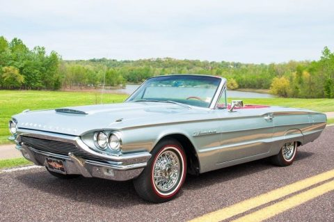 desired color combo 1964 Ford Thunderbird Convertible for sale