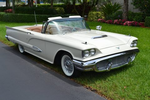 fully optioned 1959 Ford Thunderbird convertible for sale