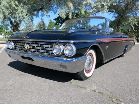 low mileage 1962 Ford Galaxie 500/XL Convertible for sale