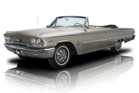 manual trans 1963 Ford Galaxie XL convertible for sale