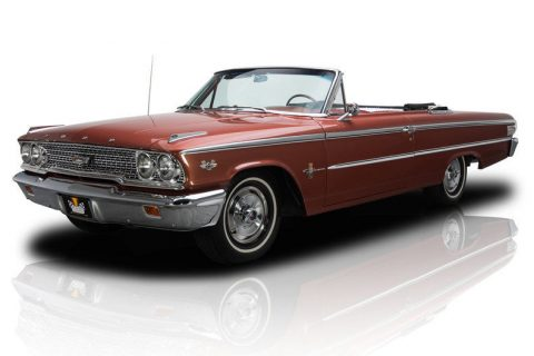 powerful 1963 Ford Galaxie 500 XL convertible for sale