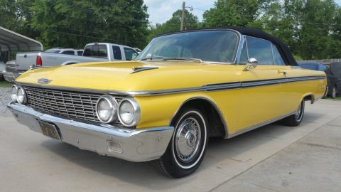 solid shape 1962 Ford Galaxie XL Convertible for sale