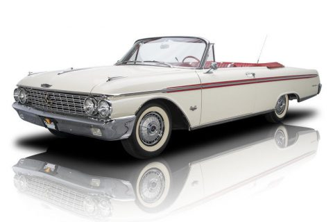 stunning 1962 Ford Galaxie Sunliner Convertible for sale