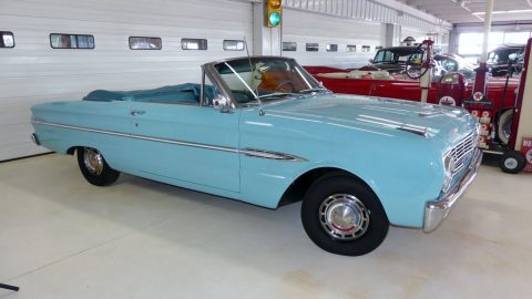 very clean 1963 Ford Falcon Futura convertible for sale