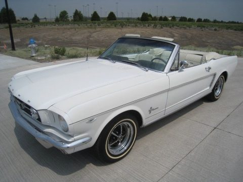 4 speed 1965 Ford Mustang Convertible for sale