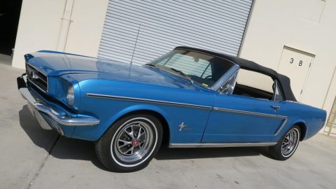 lots of extra parts 1965 Ford Mustang Convertible for sale