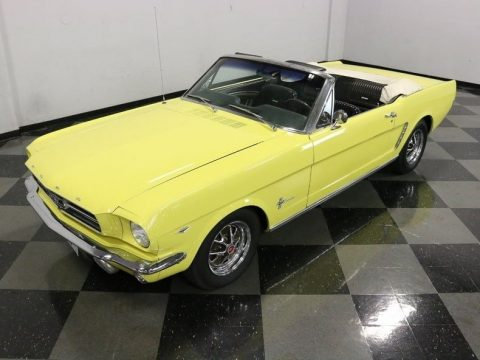 low miles 1965 Ford Mustang Convertible for sale