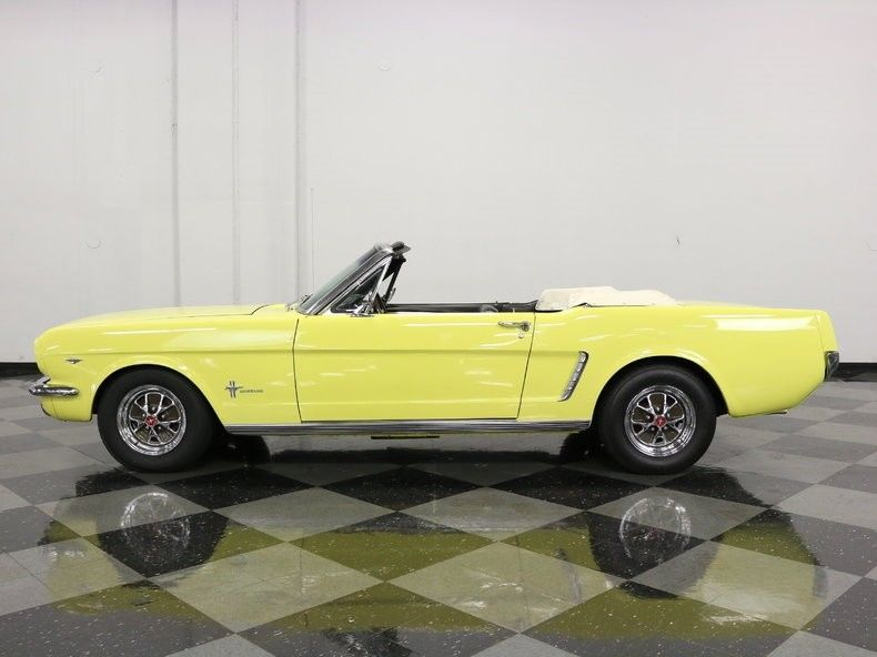 low miles 1965 Ford Mustang Convertible