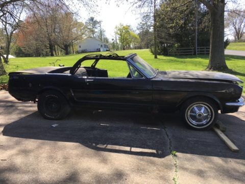needs total restoration 1965 Ford Mustang convertible for sale