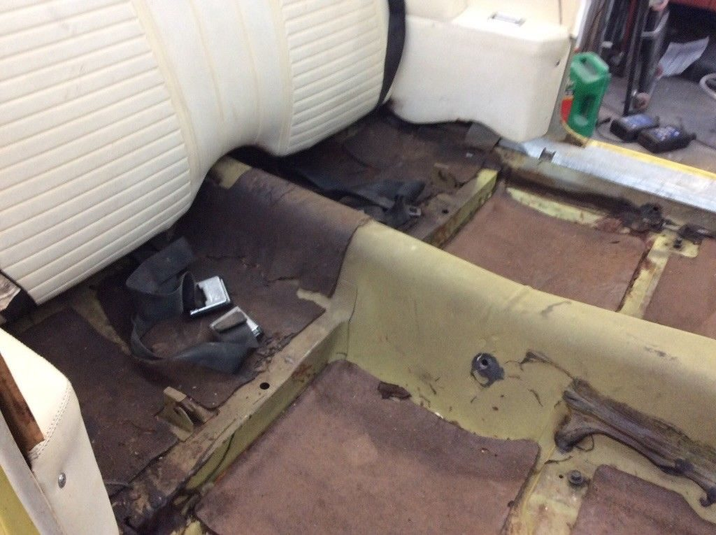 needs work 1969 Chevrolet Camaro convertible