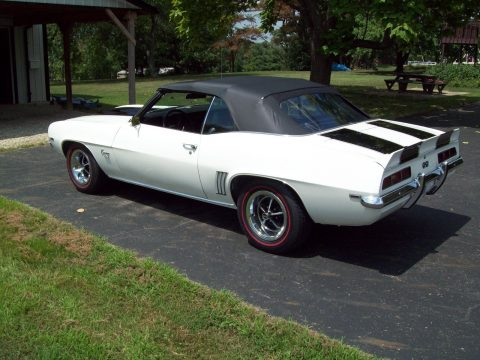 new parts 1969 Chevrolet Camaro convertible for sale