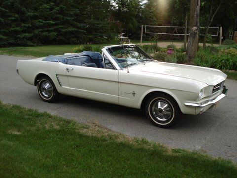 older repaint 1965 Ford Mustang Convertible for sale