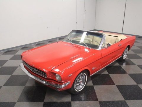 recently detailed 1965 Ford Mustang Convertible for sale