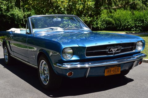 recently restored 1965 Ford Mustang Convertible for sale