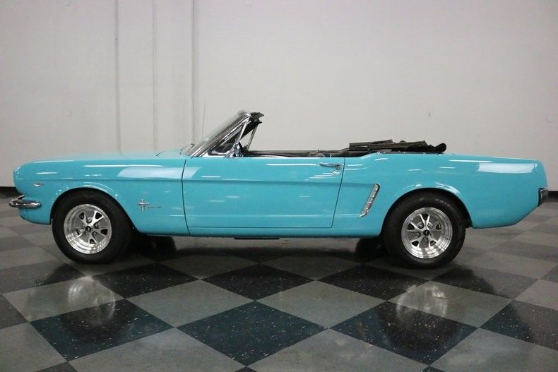 restomod 1965 Ford Mustang Convertible