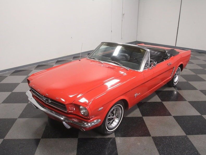 very clean 1965 Ford Mustang Convertible