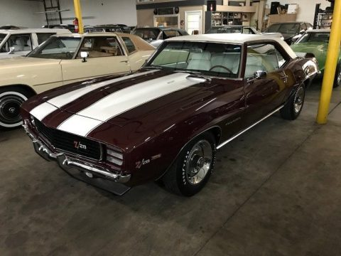 very nice 1969 Chevrolet Camaro RS Z28 convertible for sale